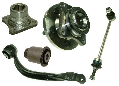 Axle and Suspension Parts