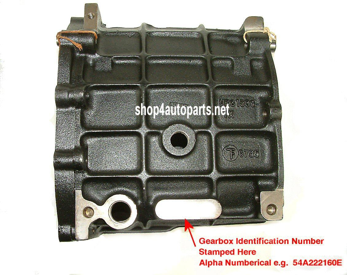 lt77/lt77s/r380 gearbox serial no. location
