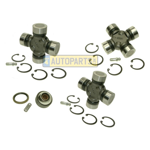 repair kit universal joint and bearing front propshaft discovery 2