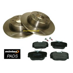 disc pad kit rear range rover p38 discovery 2