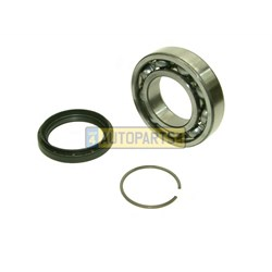 dd29572k bearing seal kit rear flange dd295 transfer box discovery range rover sport