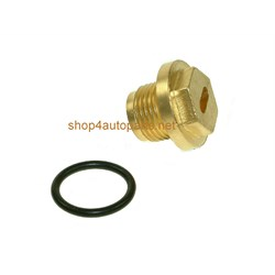 ERR4686BK: Plug kit brass plug+o ring