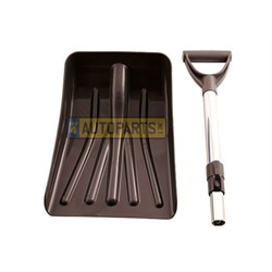 80011 snow shovel telescopic 254mm