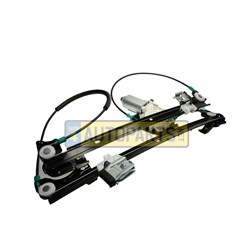 window regulator front lh freelander