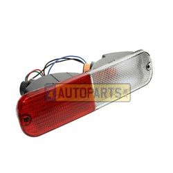 XFB000290: Lamp rear freelander 1 lh 2a to 3a red clear