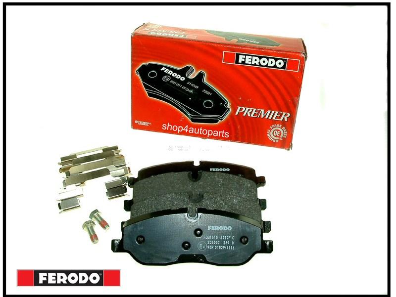 front brake pads ferodo discovery 3 4 range rover sport lr019618 | Shop4Autoparts