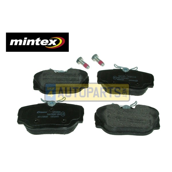 SFP500130M: BRAKE PAD SET REAR