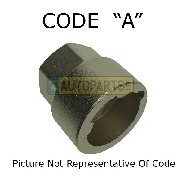STC3420: KEY TOOL WHEEL NUT CODE A