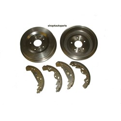 BDK8: DRUM/SHOE SET(AXLE)FREELANDER 1A