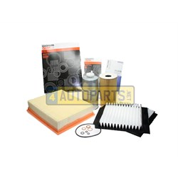 FKP385: FILTER SERVICE KIT RANGE ROVER P38 DIESEL LATE WITH PLASTIC CAP COVER FPK385