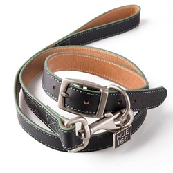 LDPT924BK4:HUE DOG COLLAR AND LEAD SET S/M