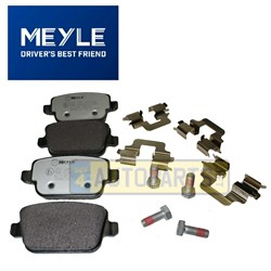 LR003657Q: BRAKE PADS REAR FREELANDER 2