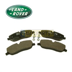LR019618: BRAKE PADS FRONT D3/RR GENUINE NO AR