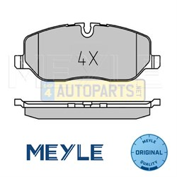 LR019618Q: BRAKE PADS FRONT DISCOVERY 3 DISCOVERY 4 RANGE ROVER SPORT