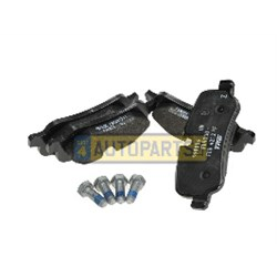 LR019627: REAR PADS LESS CLIPS GENUINE DISCO 3 4 RANGE ROVER AND SPORT