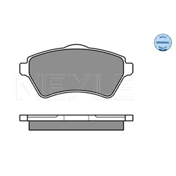 LR021899Q: PAD SET FREELANDER 1 VENTED