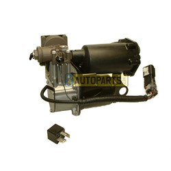 LR023964: HITACHI AIR SUSPENSION COMPRESSOR AND RELAY KIT DISCOVERY 3 4 RANGE ROVER SPORT