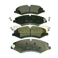LR051626M: BRAKE PADS FRONT DISCOVERY 4 RANGE ROVER RANGE ROVER SPORT MINTEX