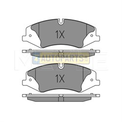 LR051626Q: BRAKE PADS FRONT DISCOVERY 4 RANGE ROVER RANGE ROVER SPORT MEYLE