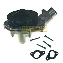 LR097165G: WATER PUMP V6 3.0 AND V8 5.0 PETROL