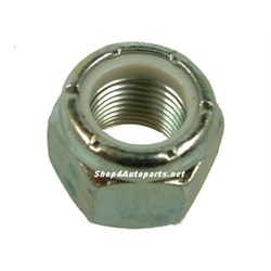NY610041L: NUT NYLOC 5/8 UNF ZINC POWER ASSISTED STEERING