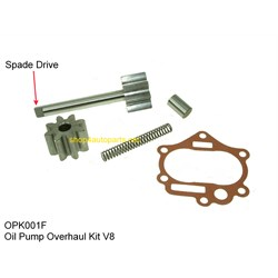 OPK001F: OIL PUMP REPAIR KIT V8 76-94