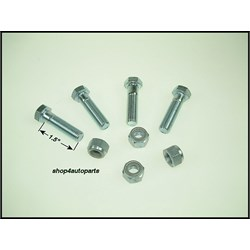 PBK002: PROP/REAR FLANGE BOLT/NUT KIT