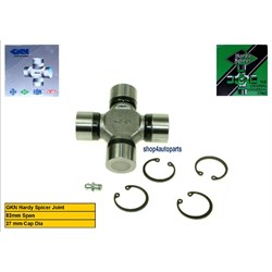 RTC3346G: UNIVERSAL JOINT 82X27MM GKN HS GREASER