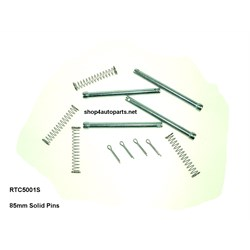 RTC5001S: BRAKE PIN & SPRING KIT 85MM FOR SOLID DISCS