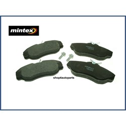 SFP100460: Brake pads front range rover p38/discovery ii mintex