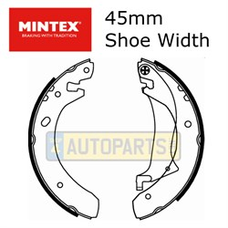 SFS000030M: BRAKE SHOES REAR FREELANDER 02> MINTEX