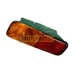 XFB101490: REAR LAMP LH BUMPER DISCOVERY 1I TO 2A99999